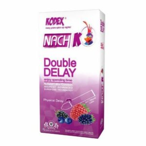 کاندوم دبل تاخیری ناچ کدکس مدل Double delay بسته ۱۲ عددی