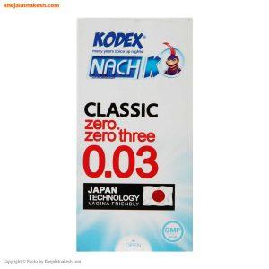 کاندوم-ناچ-کدکس-مدل-12-عددی-Classic-0