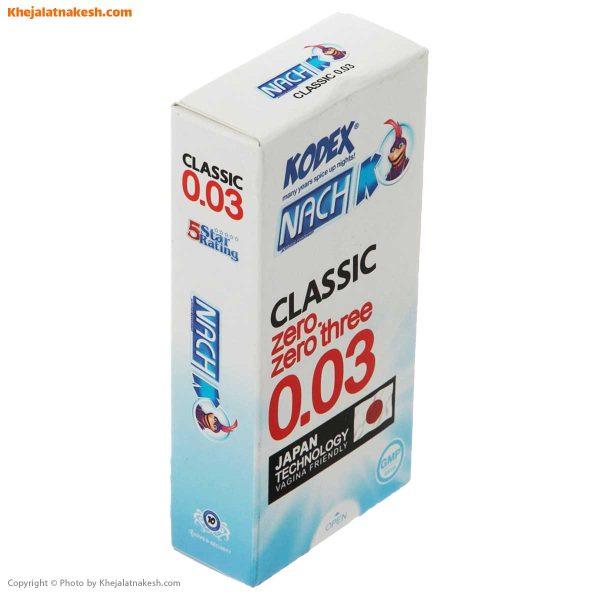 کاندوم-ناچ-کدکس-مدل-12-عدد-Classic-0