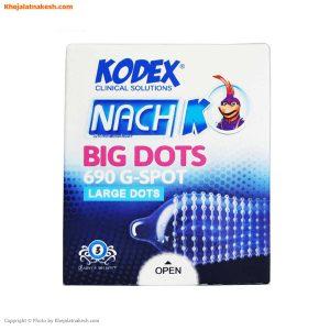کاندوم-خاردار-ناچ-کدکس-مدل-BIG-DOTS-بسته-3-تایی