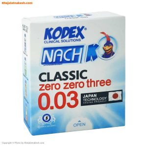 کاندوم ناچ کدکس مدل Classic 0.03